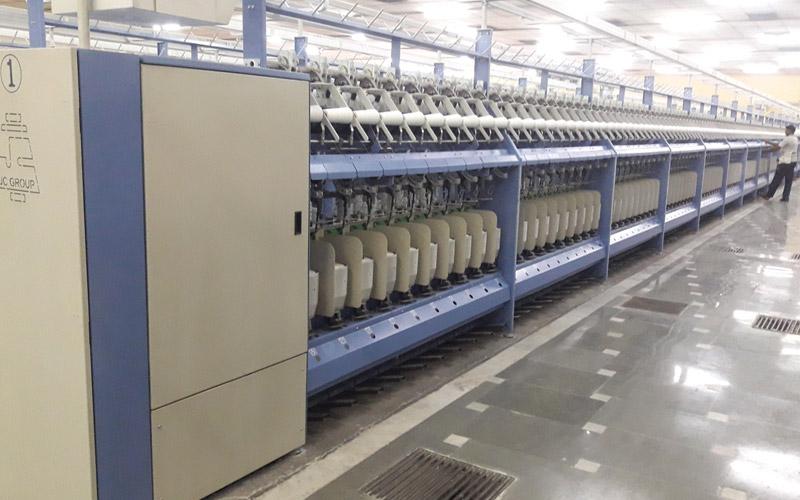 Compact TFO Cotton / Spun Yarn TFO Twister